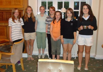 The Winning Junior Girls -- Click to enlarge