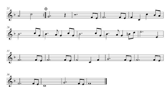 2 Aquí tenéis la Partitura Fácil en Clave de Sol para Flauta, Saxofón, Trompeta, Clarinete, Violín, Clarinet... Jurassic Park