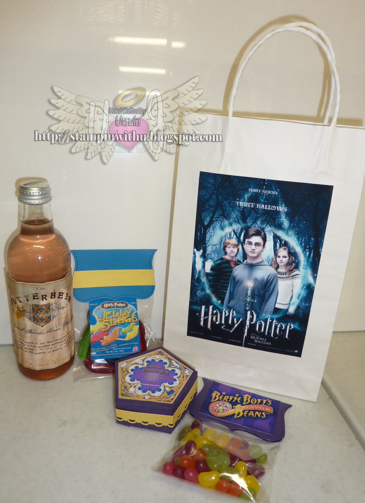 Stampin With U Harry Potter Sweets With Stampin Up