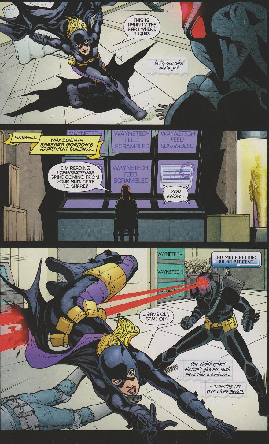 X-Man's Comic Blog: Bruce Wayne: The Road Home: Batgirl #1