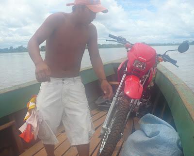 Viaje en moto por Bolivia y Brasil