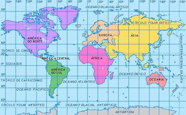 E E J A R Estudo Dos Oceanos Continentes E Mares