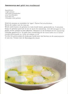 Mangerie ananassoep - Deco d voorgerecht ...