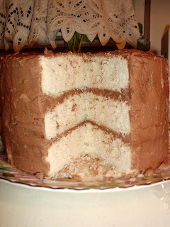 The Wooden Spoon Bonnie Butter Cake With French Silk Frosting