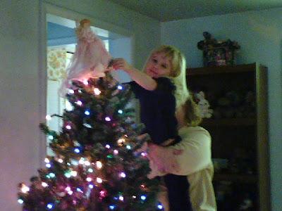 christmas angel hope stocking