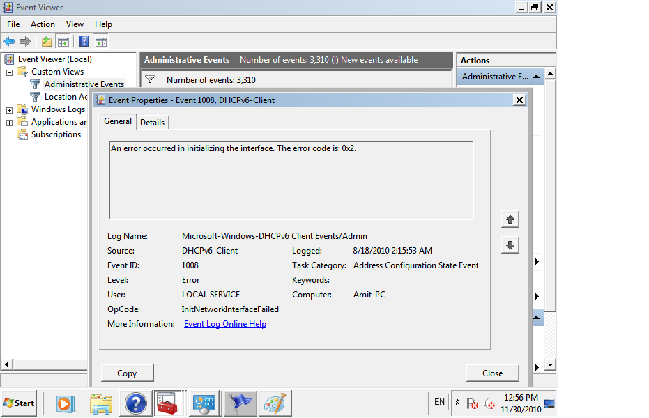 Troubleshooting Windows Errors And Solutions: DHCP Failed to assign