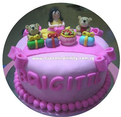 Happy Birthday Poohpooh Cake