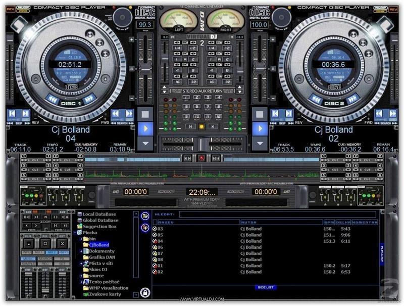 Le Meilleur du Download gratuit: Atomix Virtual DJ v5.0