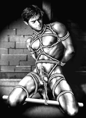 Bondage gay art