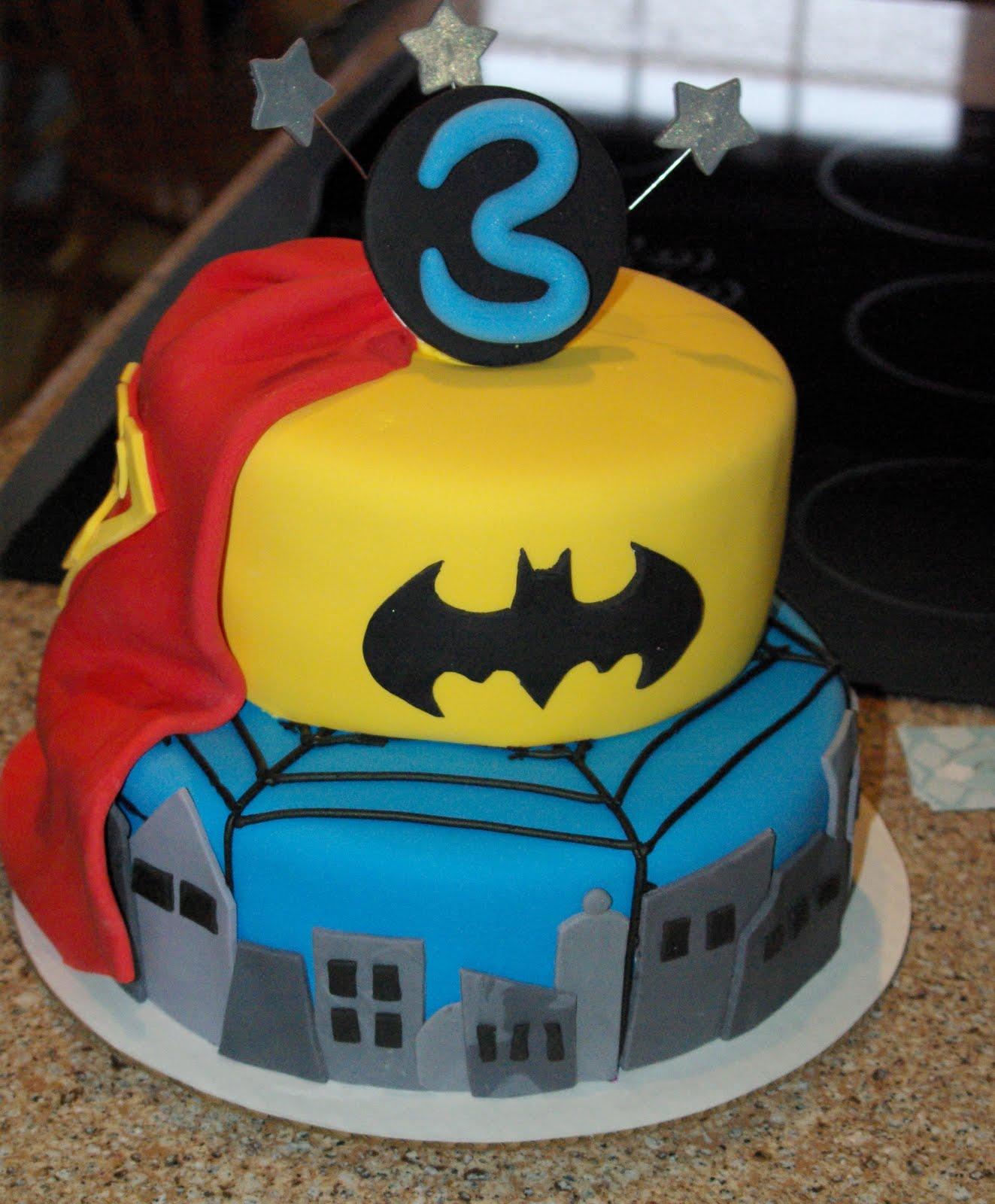 Super Hero: Super Hero Cake