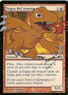 yegua del trueno by Nana