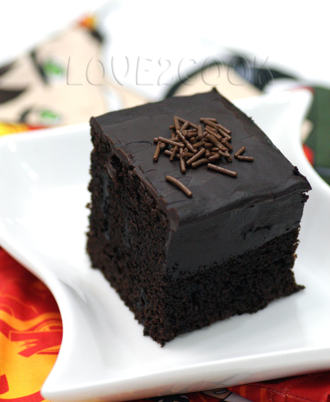 Recipe Of Eggless Death By Chocolate Cake