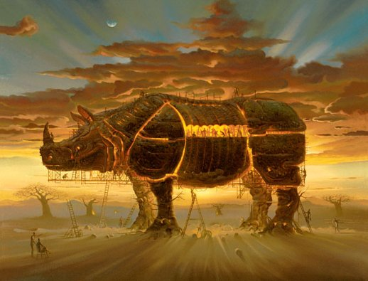 Surrealism Hd Wallpapers Backgrounds High Definition: Surrealism And Visionary Art: Vladimir Kush