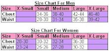 - Size Chart -