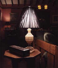 Lamp Light in the Living Room