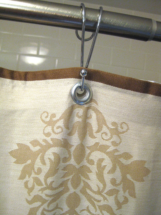 Remodelaholic | Bathroom Remodel Reveal & Shower Curtain How To