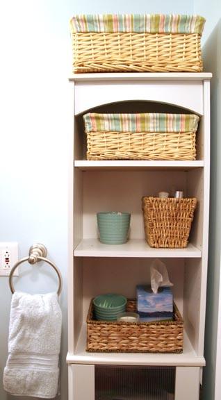 Creative Bathroom Storage Ideas: Sohl Design: Creative Bathroom Storage For Small Spaces