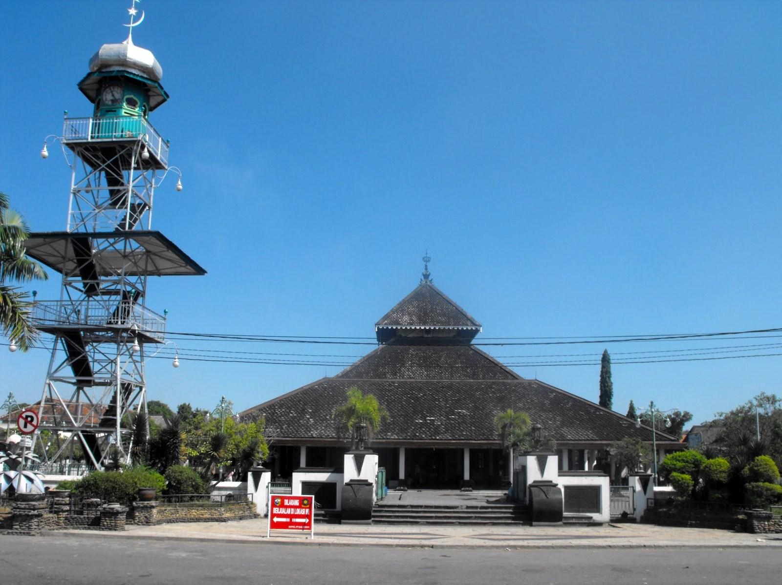 Rindu Masjid Masjid Agung Demak