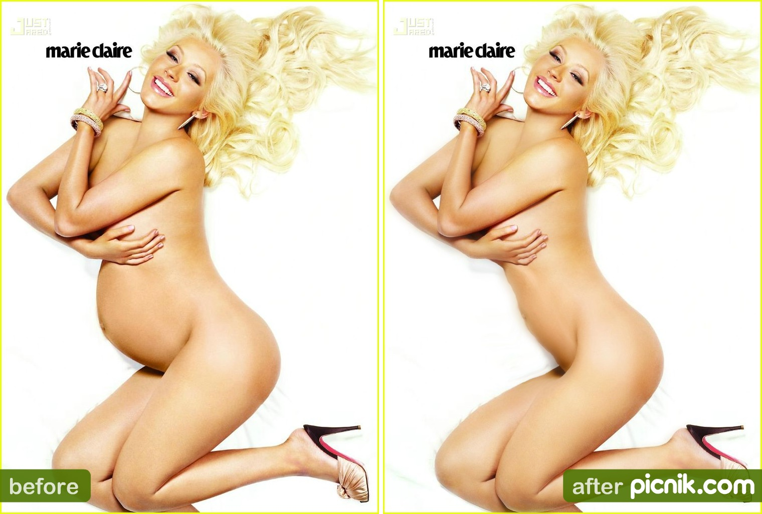 Very much christina aguilera naked pregnant