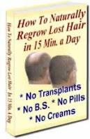 Stopping Hair Loss And Regrowing Hair Naturally