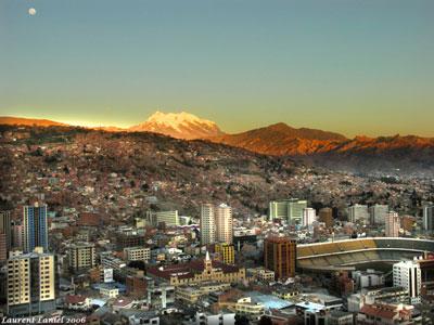 El clima de la ciudad de La Paz (Bolivia)