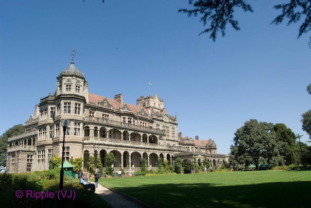 Posted by Ripple(VJ): Front View of Vicegal Lodge, Shimla