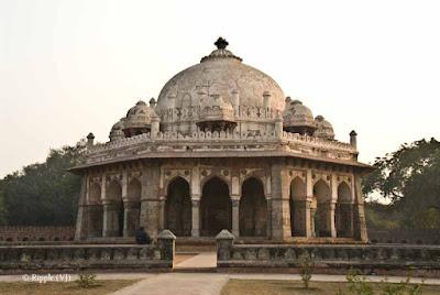 Posted by Ripple (VJ) : Humayun's Tomb, Delhi : Barber's Tomb...