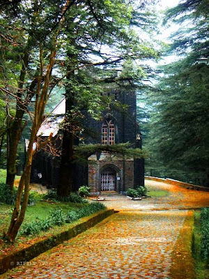 Posted by Ripple (VJ) : The Gothic stone building of the Church was constructed in 1852. The site also has a memorial of the British Viceroy Lord Elgin, and an old graveyard. The church building is also noted for its Belgian stained-glass windows donated by Lady Elgin.: Mcleoganj, Mcloedgaj, Dharmshala, Himachal Pradesh, Saint John Chruch, India, British times, ripple, Vijay Kumar Sharma, ripple4photography, Frozen Moments, photographs, Photography, ripple (VJ), VJ, Ripple (VJ) Photography, Capture Present for Future, Freeze Present for Future, ripple (VJ) Photographs , VJ Photographs, Ripple (VJ) Photography : Entry to St. John's Church @ Mcleodganj, Himachal Pradesh.8km from Dharamsala, between Forsythganj and Mcleodganj is the charming dressed-stone church of St. John in the Wilderness.