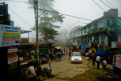 Posted by Ripple (VJ) ON PHOTO JOURNEY/ www.travellingcamera.com : Different colors in Mcleoganj Market on a Foggy Day @ Upper Dharmshala, Himachal Pradesh: Mcleodganj @ Dharmshala, Himachal Pradesh: ripple, Vijay Kumar Sharma, ripple4photography, Frozen Moments, photographs, Photography, ripple (VJ), VJ, Ripple (VJ) Photography, Capture Present for Future, Freeze Present for Future, ripple (VJ) Photographs , VJ Photographs, Ripple (VJ) Photography :  McLeodganj in Himachal Pradesh is the place where Dalai Lama resides. It is thus one of the important tourist destinations of the state. Also known as 'Little Lhasa' the town is the refuge of that Tibetan government, which has been in exile for the past three decades.Buddhist Temple @ Mcleodganj, Dharmshala, Himachal Pradesh: Mcleodganj is very famous among foreigners and its most popular tourist place in Himachal for non-Indian tourists...Now there are lot of Yoga, Meditation centers which are very popular. People from various regions of the world come here to learn meditation and YOGA...: Typical view of narrow market @ Mcleodganj, Upper Dharmshala, Himachal Pradesh