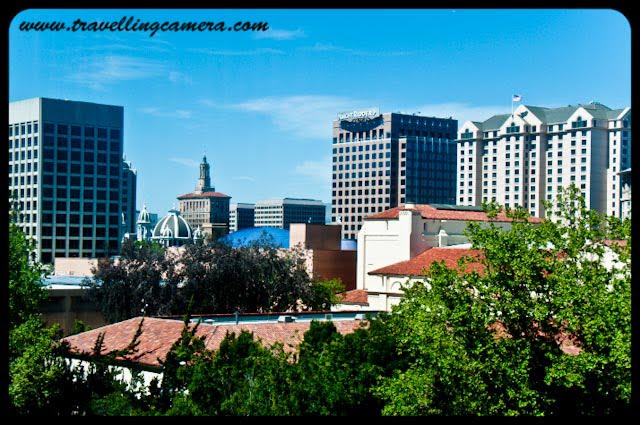 I was amazed by California's Urban Skylines. Buildings of all shapes and sizes dotted the horizon. Each Skyline was unique and colorful. Judge for yourself.Buildings visible from Hotel Hilton located in San Jose downtown.A jet line above the Palm trees. There were plenty of opportunities available for these kinds of shots. Again San Jose downtown.We were surrounded by the Glass Buildings everywhere. Everything looked Polished, though a tad bit unreal.A random shot in the streets of San Jose downtown. The wide variety of structures made even a vastly concrete architecture unique.The Boccardo gateway of the San Jose State University which boasts of a very culturally diverse student population.San Francisco Skyline at night from across the Golden Gate bridge. You can see a boat in the ocean on the right side.The Transamerica Pyramid is one of the most famous buildings of San Francisco.This is probably the most vibrant a skyline can get without getting cluttered. Look at the wide variety of colors, shapes and sizes against the back drop of the ocean. Also, San Francisco evidently houses a large portion of the population of California. At places, houses were so close that they resembled the densely populated areas of Delhi.California,  San Jose, San Francisco,  San Jose State University, urban, skylines