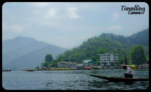 PHOTO JOURNEY to Dal-Lake in Srinagar : Posted by Sheetal @ www.travellingcamera.com : Dal Lake is famous place to visit in Srinagar and needs no introduction... But still I will add few details about the lake with these photographs:-) Lake is surrounded by Mughal era gardens, parks, houseboats and hotels. Scenic views of the lake can be witnessed from the shore line Mughal gardens like Shalimar Bagh and Nishat Bagh built during Mughal Emperor Jahangir and from houseboats cruising along the lake in the colourful shikaras.During the winter season, the temperature sometimes reaches −10 here and lake freezes during winters...The lake is located within a catchment area covering 320 square km in the Zabarwan mountain valley which is in the foothills of the Himalayan mountain range from three sides...The lake is popular as a visitor attraction and a summer resort. Fisheries and the harvesting of food and fodder plants are also important on Dal Lake...