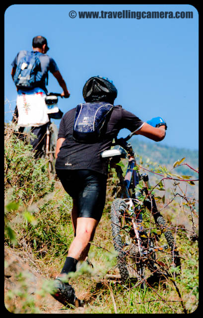 Bike Riding Activities during 8 days of Mountain Terrain Biking event of Himachal Pradesh 2010 : Posted by VJ SHARMA on www.travellingcamera.com :Its been more than 3 weeks that I am posting Photographs of Mountain Terrain Biking in Himachal Pradesh (2010) and today I thought of sharing photographs of Riders only... Please check the Photographers of most of the riders who participated in MTB Himachal 2010...Some of them are in silhouettes to make that snow covered hills are noticeable in the photographs....Riders on highest speed during downhill stretch of MTB Himachal 2010...Bhago Bhago.... MTB Riders aa rahe hain... A Call by one of the Photographer to others standing on next turns of the same road...Here comes Rider Number 41 of MTB Himachal 2010... Who is he?All the riders were very skillful and had to cross many challenges on the way... Roads, Traffic, Weather etc...Flying Riders of Mountain Terrain Biking event of Himachal Pradesh (2010)Mr Ranjan Nautiyal in Downhill during third day of MTB Himachal 2010....One of the rider from Banglore who were sponsored by Royal Challenge...Here comes another passionate rider of MTB Himachal 2010.. He was from Maharashtra Police and had participated in Common Wealth Games 2010 in Delhi...A Passionate rider from Dehradun.. Mr. Ranjan Nautiyal !!!Dutta Ji !!! Another Rider of MTB Himachal 2010 - with his unique style... He never wear shoes and most of the time rode the bike bare feet... Dutta Ji is a farmer in Maharshtra state of India....Delhite Rider @ MTB Himachal 2010 ... a Nepali Rider talking to air in Himalayas @ MTB Himachal 2010 !!!Me standing with Nepali Team @ Jalori Pass, in front of Banjar mountain range which was covered of snow...Riders in the beginning of fifth day after a good stay at Kullu Sarahan Village @ 3200 meters...One of the rider starting from Kullu Sarahan Camp on Fifth day of MTB Himachal 2010 !!Mr Suresh, A rider from Maharashtra cleaning his bike during rest day @ Kullu Sarahan Village...Rider no 2, I think he is Rohitash from Banglore :)MTB Himachal riders repairing their bikes @ Baghipul...Riders struggling to ride during hike & bike session on second day !!!Riders dragging their bikes in hiking stretch on second day of MTB Himachal 2010...Another Rider dragging his bike on second day of Mountain Terrain Biking @ Himachal PradeshMTB rider crossing the natural obstacles... on second day of Mountain Terrain Biking event in Himachal Pradesh....Unique style of riding the bike on straight hill on second day of MTB Himachal 2010....Riders during Hike and Bilke Stretch on second day after camping @ Shainj Village in Shimla District..Every rider had to cross a river on second day of MTB Himachal 2010... But here is one enthusiast who is having fun inside the river with chilling water...Another rider crossing the river during second day of Mountain Terrain Biking in Himachal Pradesh.. 2010He also wanted to save his shoes from water :)MTb Rider about to hit the final line...Another MTB rider struggling hard to reach the final line...MTB RIDERS crossing water stream on the way...Riders crossing through various villages on the way ....Rains had added more excitement among riders..Uphill Stretch during first day of Mountain Terrain Biking in Himachal Pradesh... 2010Its evening time now... and next destination is still far away....