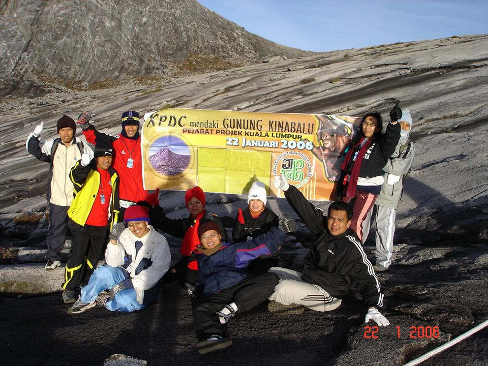 MY XPDC TEAM TO MOUNT OF KINABALU