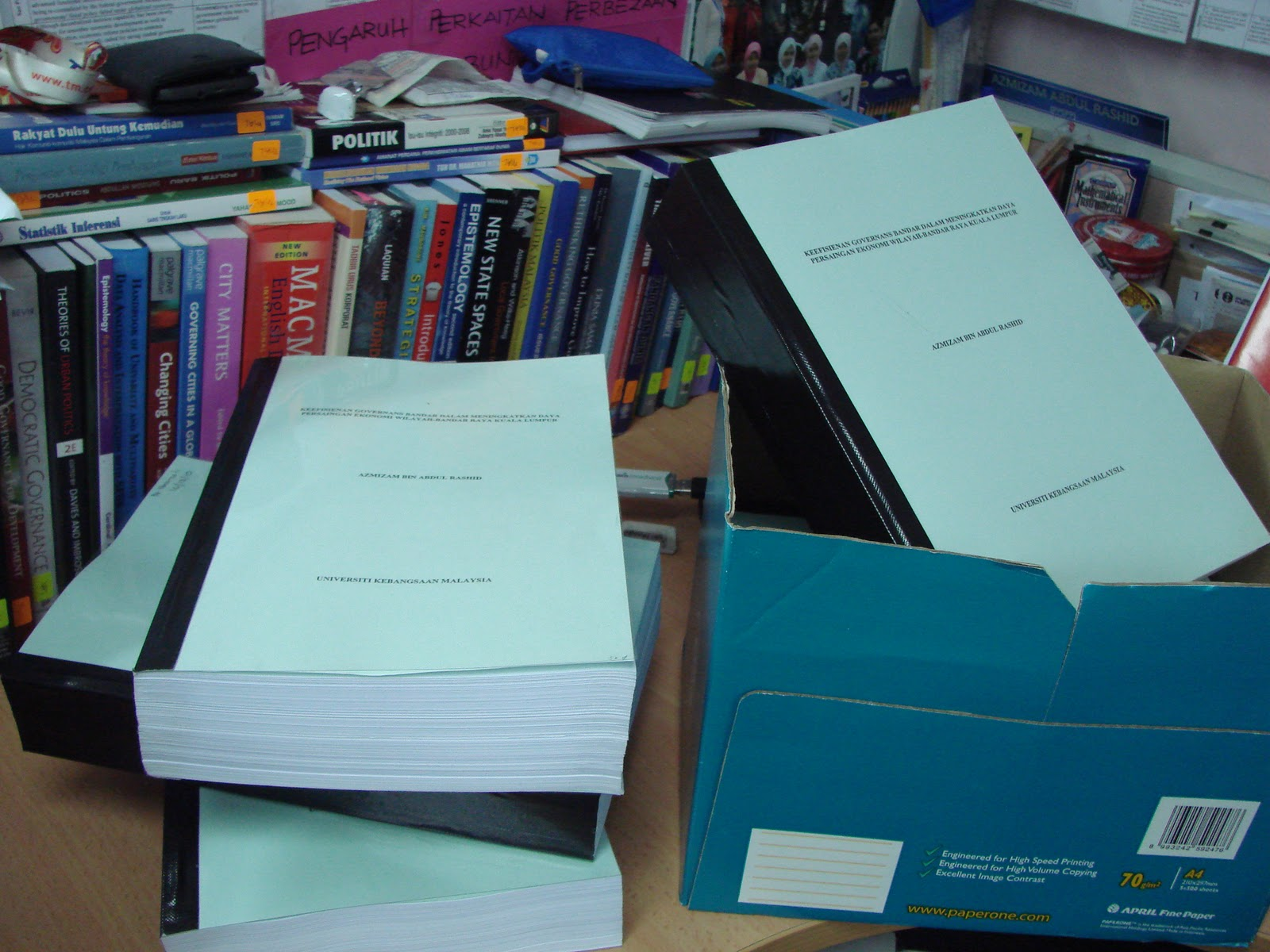 Phd thesis in urban and regional planning