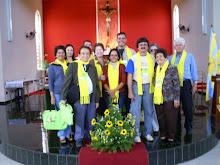 Delegação do Movimento Familiar Cristão do Ceará em Araraquara