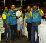 Edna Souza,Djair Nogueira,Cesar Augusto,Edmilson Almeida e Pedro Sampaio..