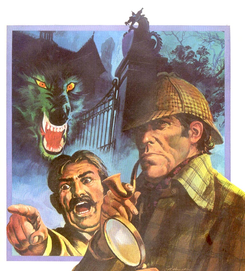 hounds of baskerville Use our free chapter-by-chapter summary and analysis of the hound of the  baskervilles it helps middle and high school students understand arthur conan.
