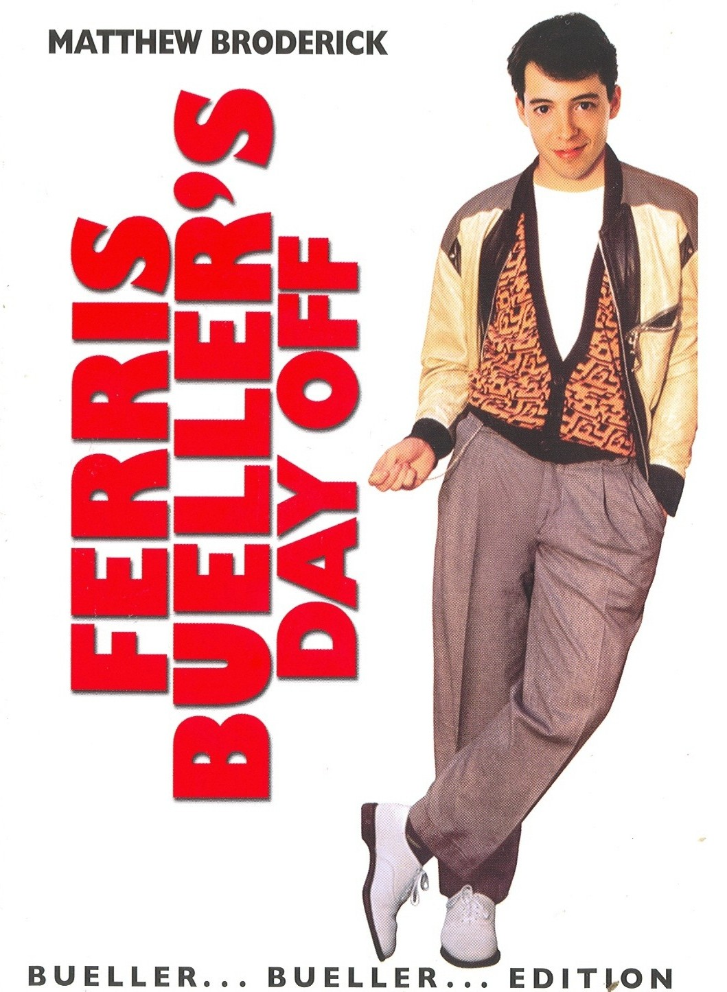 80s Vintage Clothing In The Uk Just Got Easier: POPSICULTURE: 80s Movies: Ferris Bueller's Day Off (1986