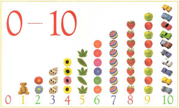 kids under 7 counting and number cards