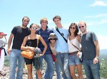 Dream Team sur la pyramide du soleil, Teotihuacan