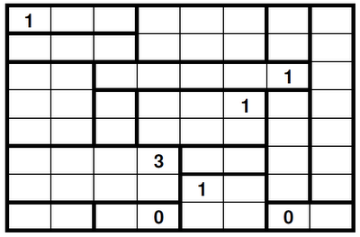 Logic Puzzles: Heyawake