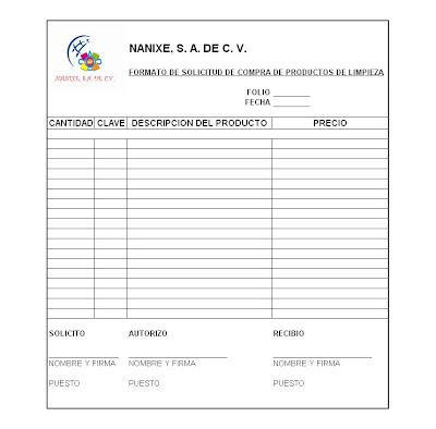 Nanixe el sabor de m xico mofr gfh3 000 formato de for Manual de procedimientos de alimentos y bebidas de un hotel
