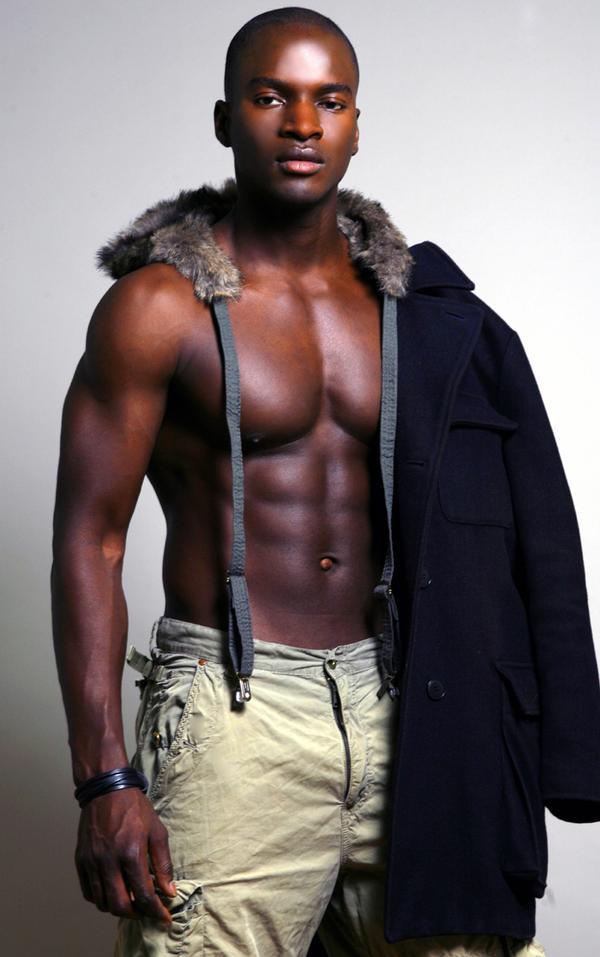 Sexiest Men Of Color Senegalese Top Model  Cherif Ndiaye-2368