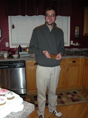 Cupcake thief!