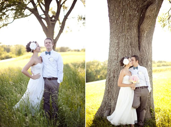 Real Retro Weddings: {Real Wedding} Vintage Wedding On A Budget