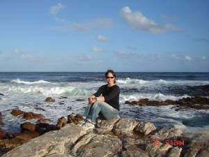 Jerri at the Cape of Good Hope