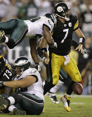 Black and Gold: Steelers exposed by Eagles' defense