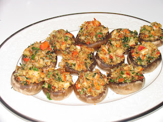 Lobster Stuffed Mushrooms (Lobster Recipe)