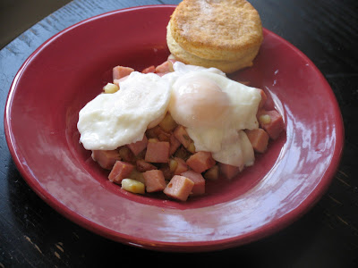 Ham and Lavender Hash