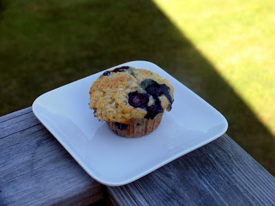 Sunday Breakfasts #4: Banana Blueberry Muffins
